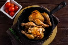 Roasted chicken by The baking man on Creative Market