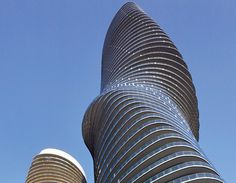 The Absolute Towers in Mississauga, Canada
