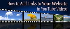 Your Website, Pre And Post, You Youtube, You Videos, Filmmaking, Online Marketing, Blogging, How To Become, Social Media