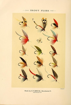 Trout Flies, Mary Orvis Marbury - Favorite Flies and Their Histories 1892