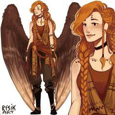 New outfit myart digitalart heroesoffantasme alanah wings Female Character Design, Character Design Inspiration, Character Concept, Character Art, Dnd Characters, Fantasy Characters, Female Characters, Wings Drawing, Angel Outfit
