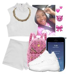 """""""School Outfit"""" by clinne345 ❤ liked on Polyvore featuring MCM"""