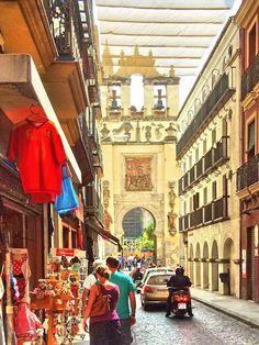 Shaded Street, Sevilla, Spain Copyright: Peter Zgebura