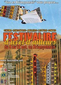"""BRIANCON - Du 9 au 12 octobre – FESTIVALIRE d'ici et d'ailleurs sur le thème de """"L'immigration"""""""