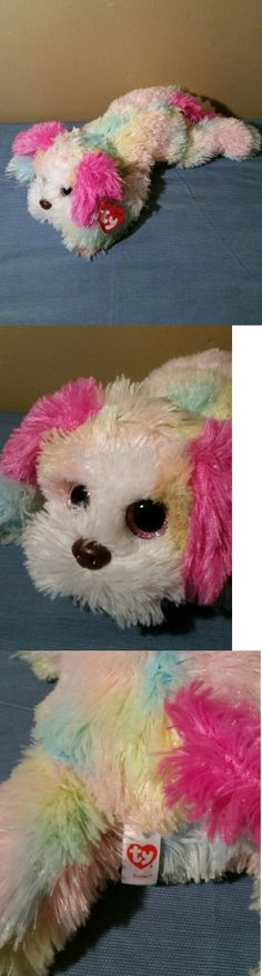 4ac6093ac50 Ty Classic Yodeler St Bernard Shaggy Puppy Dog Yodels Brown Plush Toy 2010  in great condition.