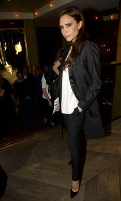 Victoria Beckham Keeps It Smart In Tailoring