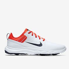 new arrival 84f34 f5dd2 Nike Ladies Fi Impact 2 Golf Shoes White Red Navy