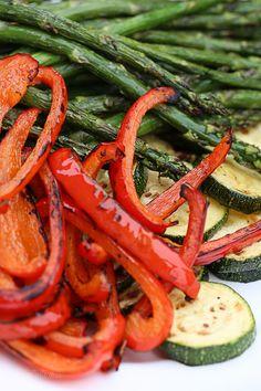 Honey Balsamic Grilled Chicken and Vegetables | Skinnytaste