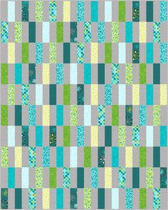 Simple Strips Quilt Along Revisited - Make a Quilt from Start to Finish