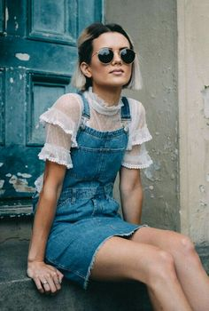ruffles and denim