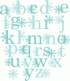 Snowflake Alphabet SVG scrapbook title winter svg cut file snowflake svg cut files for cricut cute svgs free Bubble Letter Fonts, Xmas Drawing, Scrapbook Titles, Scrapbooking, Fancy Fonts, Alphabet And Numbers, Alphabet Letters, Cute Clipart, Silhouette Design