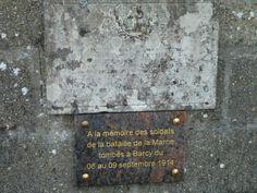 Stèle cimetière Barcy