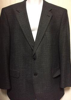 Jos A Bank Signature Men 039 s Two Button Blue Houndstooth Sports Coat Blazer | eBay