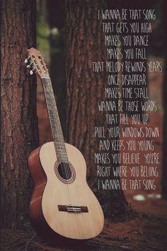Wanna be that song - Brett Eldredge #wannabethatsong #bretteldredge #country…