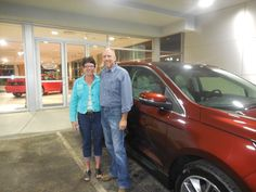 Ross Fleckenstein and the rest of us here at Court Street Ford would like to congratulate Charles and Deanna Wright of Ashkum on the purchase of their 2015 Ford Edge.  Thank you for your business!