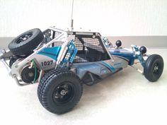 Desert Buggy, Rc Radio, Rc Cars And Trucks, Sand Rail, Kart Racing, Rc Hobbies, Wild Ones, Radio Control, Tamiya