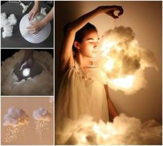 Wonderful DIY Beautiful Cloud Lights Decoration / WonderfulDIY.com