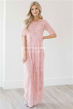 Day Dreamer Lace Full Length Dress