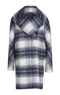 One Button Plaid Coat by Martin Grant - Moda Operandi