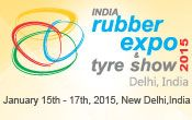 INDIA RUBBER EXPO & TYRE SHOW  RUBBER EXPO INDIA 15.01.2015 - 18.01.2015 INDIA RUBBER  EXPO & TYRE SHOW PRAGATI MAIDAN / NEW DELHI- INDIA HALL 11 - NOSTRO STAND NR. 10.1  Il nostro team commerciale e tecnico è a vostra disposizione e siete i benvenuti!