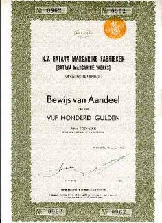 batava margarine fabrieken nijmegen. http://oude-aandelen.nl/nederland/batava.jpg