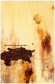 Nine Inch Nails Downward Spriral Trent Reznor Music Poster 12x18
