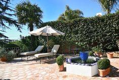Spanish Style Homes, Spanish Revival, Spanish Colonial, Santa Barbara House, Spanish Patio, Mediterranean Garden, Rental Property, Backyard, Gardens