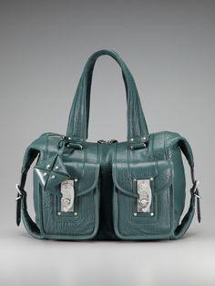 Swingset Satchel by Allibelle Handbags