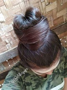 Big Bun, Bun Hairstyles For Long Hair, Amazing Hair, Updos, Long Hair Styles, Fashion, Up Dos, Moda, La Mode