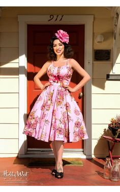 Pin Up Girl Clothing Com Small Dots Halter Top Retro  Rockabilly  Vintage 50S Pinup