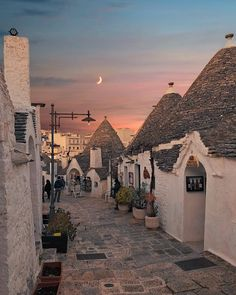 Magical evening at Alberobello & Puglia, Italy. Photo by The post Magical evening at Alberobello Puglia, appeared first on . Oh The Places You'll Go, Places To Travel, Travel Destinations, Places To Visit, Travel Stuff, Beautiful World, Beautiful Places, Beautiful Live, Wonderful Places
