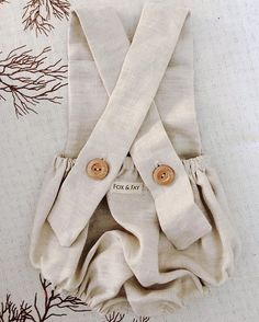 844a5ab5c0c1 Natural Linen Romper   fox   fay Natural Linen