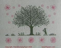 Under the Cherry Tree -- Filigram