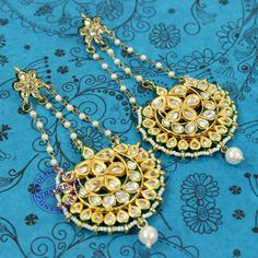 Rizul Earrings by Indiatrend. Shop Now at WWW.INDIATRENDSHOP.COM
