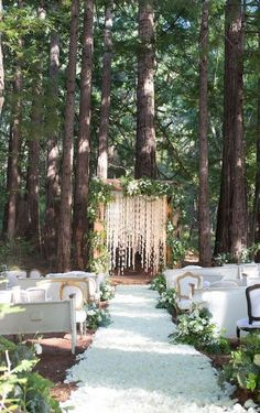 7 Wedding Arches That Will Instantly Upgrade Your Ceremony - Enchanted forest wedding decorations wedding ideas on a budget colors forest wedding ceremony Enchanted Forest Decorations, Forest Wedding Decorations, Enchanted Forest Wedding, Woodland Wedding, Wedding Centerpieces, Boho Wedding, Fall Wedding, Trendy Wedding, Dream Wedding