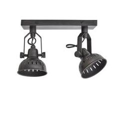 Vintage Adjustable Swivel Spotlight Flush Mount- Double - Available in 2 - 4 weeks