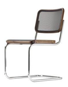 Der #Thonet S32 - #Freischwinger der ersten Stunde. Wer hat sie erfunden, die Stühle auf Kufen?