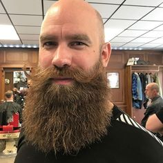 Viking Beard Tips and Styles (Part 1 of Shaved Head With Beard, Bald With Beard, Red Beard, Bald Men, Ginger Beard, Moustache, Beard No Mustache, Great Beards, Awesome Beards