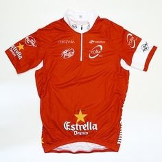 #VoltaACatalunya is all about mountains and breakaways and the red #CyclingJersey is highly coveted among riders because it is given to the leader / winner of the Mountain Points Classification. Last year's winner was @degendtthomas.  ___________________________  #TheCyclingJerseys | #CyclingJerseys | #CyclingKit | #CyclingKits | #BikeKit | #BikeKits | #RoadCycling | #Cycling | #CyclingStyle | #TeamKit |  #LeTour | #Giro | #LaVuelta | #UCI | #ThomasDeGendt