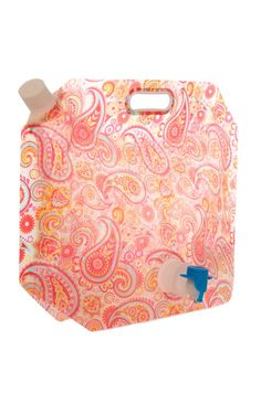 Primark - Paisley Foldable 5L Drink Container