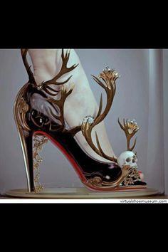 Halloween wedding shoes anyone?
