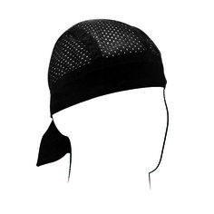 BackThe Flydanna® Vented Sport is constructed of lightweight, polyester mesh, similar to the fabric used in professional sports jerseys, but has a soft knitted cotton band for extra comfort. The low profile knitted cotton band is comfortable and absorbs sweat has you play hard. The pigment dyed fabric is fade-resistant and extremely durable.