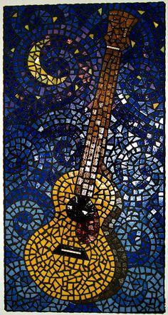 Moonbug Mosaics by Tobi Ellis