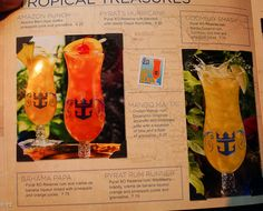 Royal Caribbean drink Lists! Prices, menus, and much more. – cruise with gambee