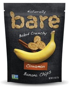 Ingredients: Bananas, Cinnamon  Gluten free         No added sugar         Fat free         Good source of fiber No oil         No preservatives