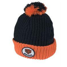 2a6231b16a8 Official Bears Store. Chicago BearsKnitted HatsBeanieKnit ...