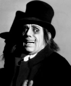 frankifiend:  blood—flowers:  Lon Chaney in 'London After Midnight'