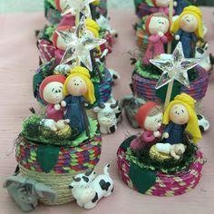 Souvenirs para Navidad. | Pasta Flexible Lulu Mendoza
