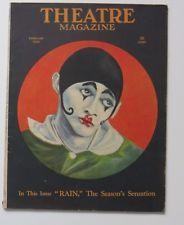 Theatre Magazine February 1923 w/Theatre & Silent Film Stars Plus Many Great Ads