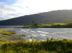 Ardvreck Castle, Loch Assynt, Sutherland,  Highland, Scotland  Photo by Ayuna Skol Ofenstrü (2012)